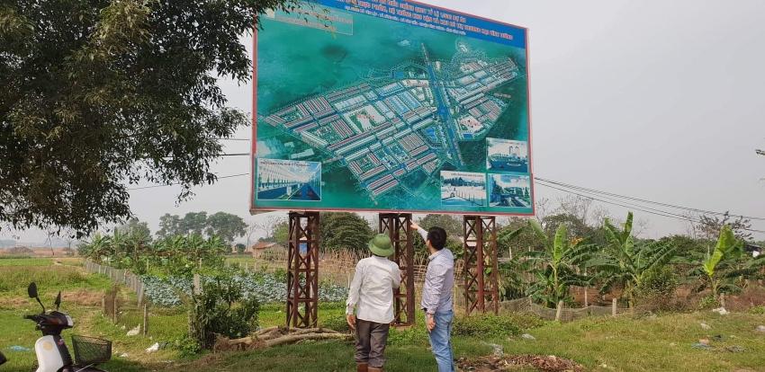 vinh phuc announces lan use project
