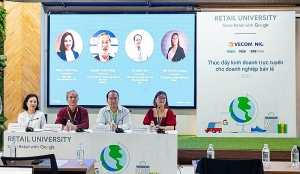 retail university campaign to help retailers expand online channels