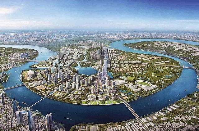 nine golden land plots at thu thiem new urban area up for auction
