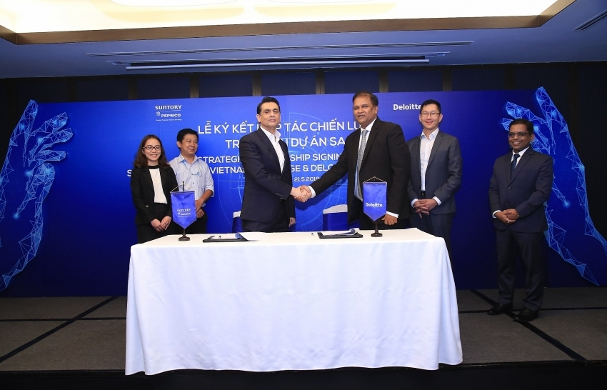suntory pepsico vietnam partners with deloitte consulting vietnam