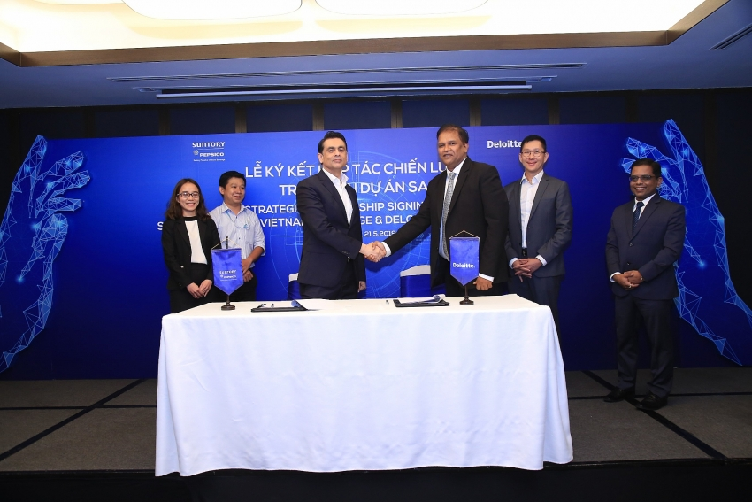 suntory pepsico vietnam parnerships with deloitte consulting vietnam