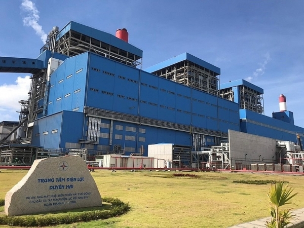 expanded duyen hai 3 thermal power plant to go into commercial operation this month