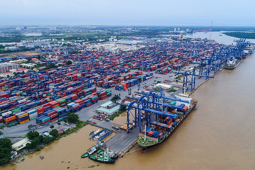 south korea opens new container shipping route to vietnam