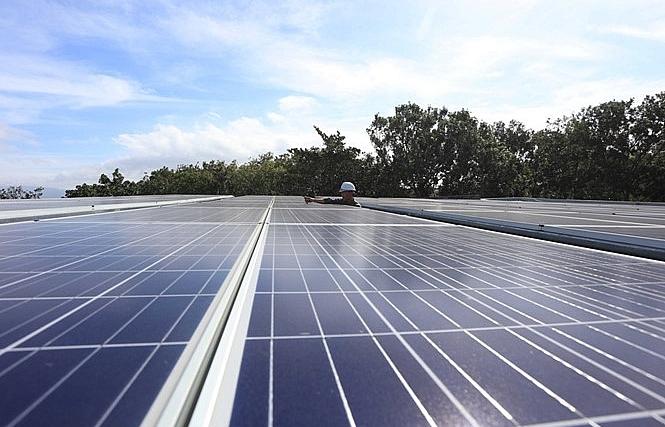 second solar farm kicked off in ninh thuan