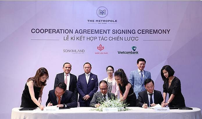 sonkim land joins development team of metropole thu thiem