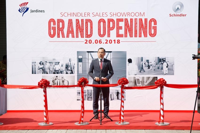 schindler to launch first showroom in vietnam
