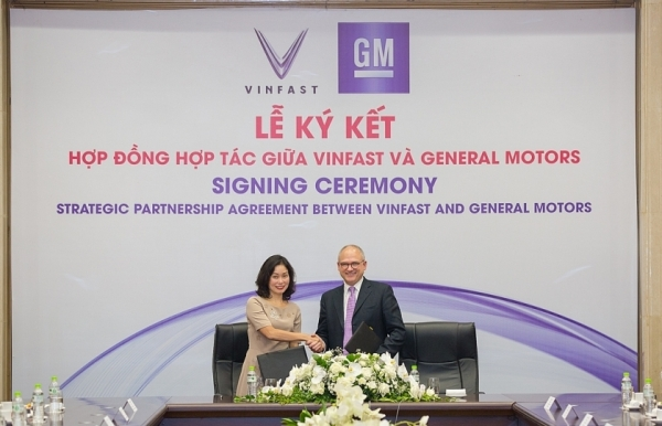 vinfast and gm signs landmark strategic partnership agreement