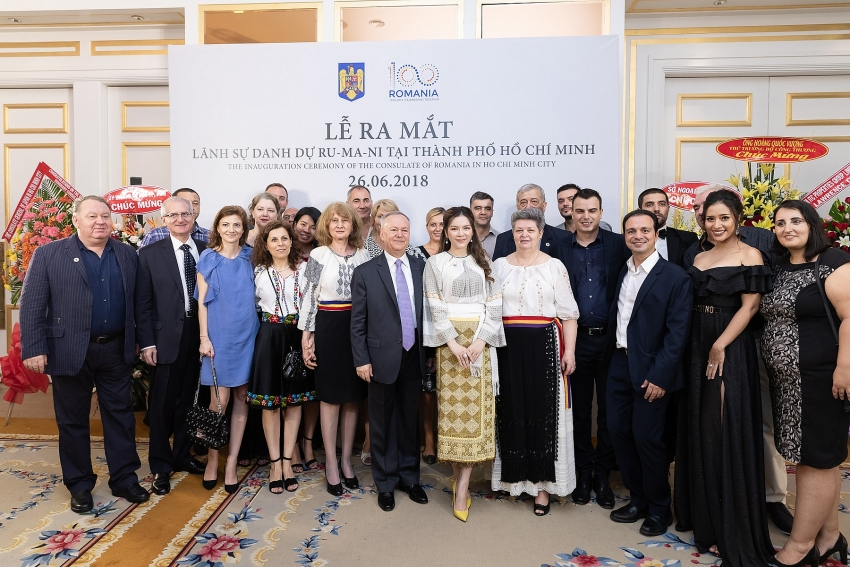 honorary consulate of romania opens in ho chi minh city