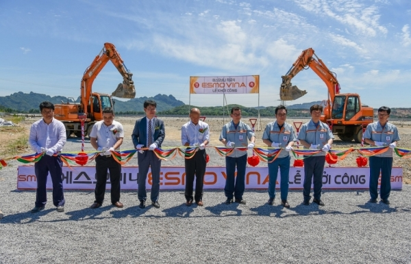 esmo starts construction of first wiring harness facility in vietnam