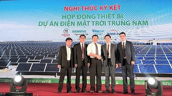 arctech solar becomes key equipment supplier for trung nam solar plant