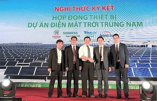 arctech solar becomes key equipment supplier for trung nam solar plant