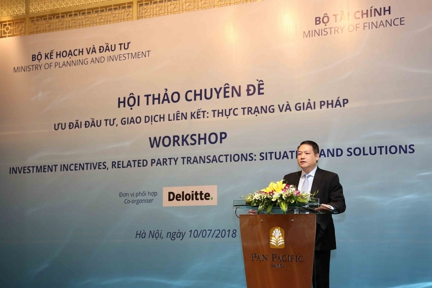 foreign investors concerned about tax incentives and procedures
