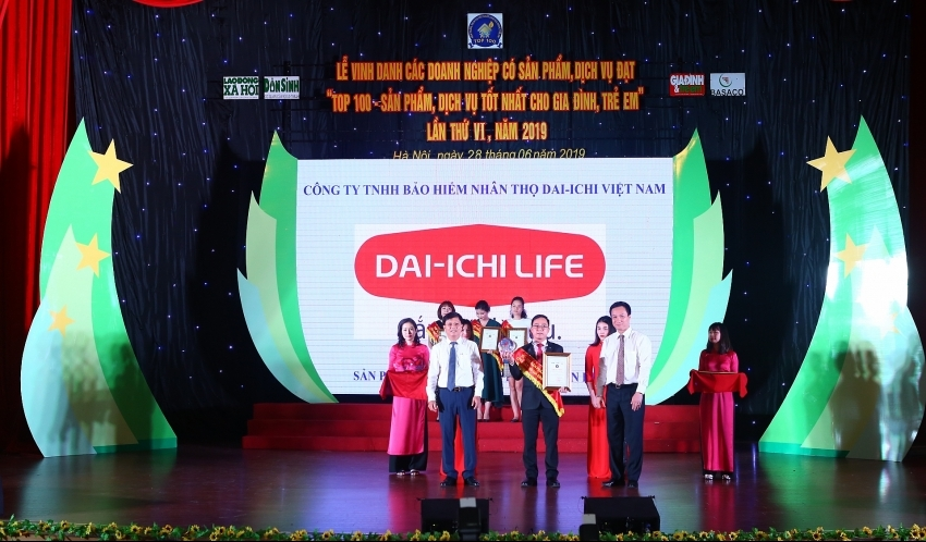 dai ichi life vietnam product honoured at top 100 best products