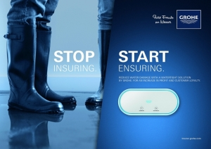 l hitapiola and grohe launch water damage insurance at dia amsterdam