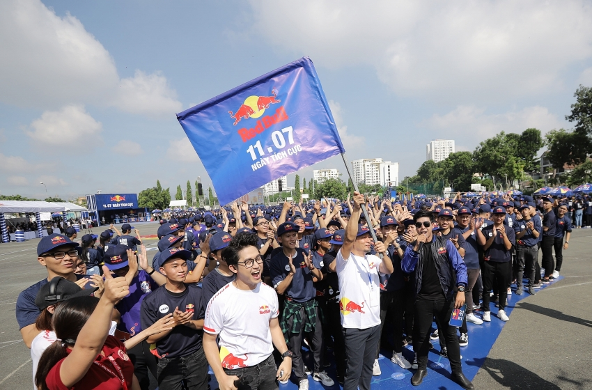 red bull marks positive day with asian record to spread positive power across vietnam