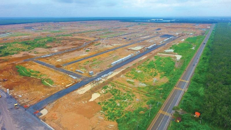 Long Thanh Airport at risk of delays due to slow land clearance