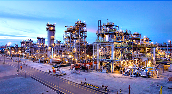 Construction of $5 4 billion Long Son petrochemical complex