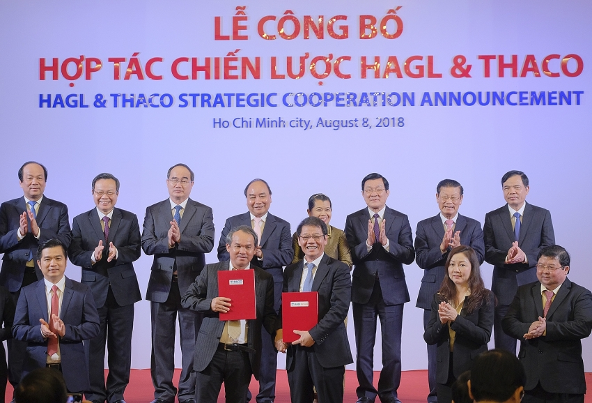thaco announces strategic cooperation with hagl