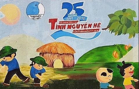 akzonobel vietnam joins mua he xanh to redecorate ho chi minh city