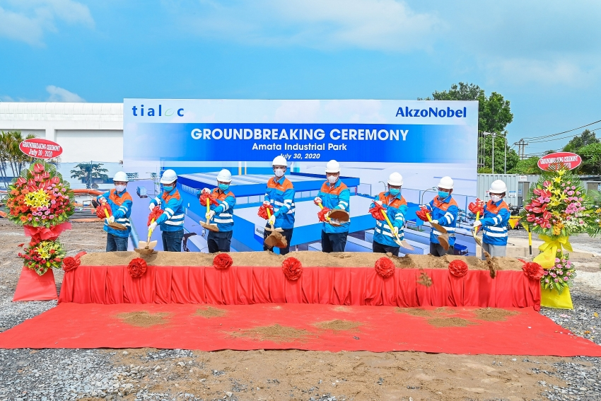 akzonobel investing in a greener manufacturing site for more sustainable growth