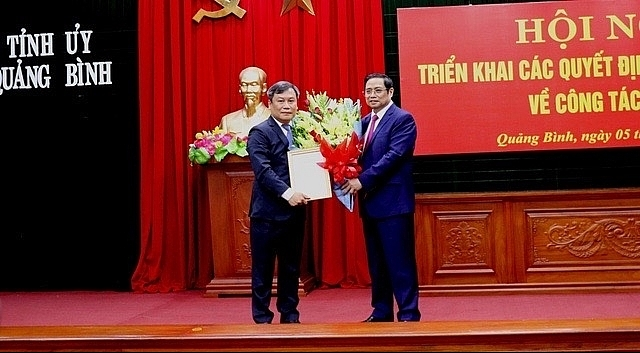 mpi deputy minister appointed as secretary of quang binh party committee