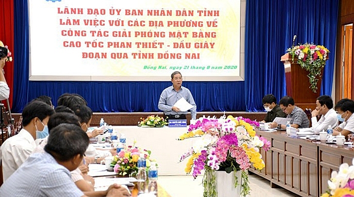 construction of phan thiet dau giay to kick off in late september