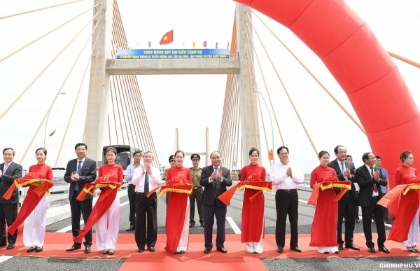 halong haiphong expressway officially open for traffic