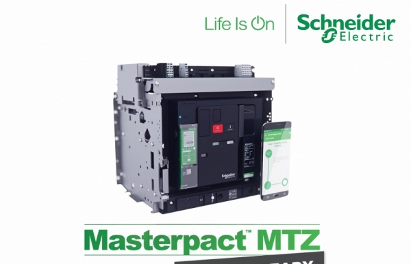 schneider electric introduces masterpact mtz power circuit breaker