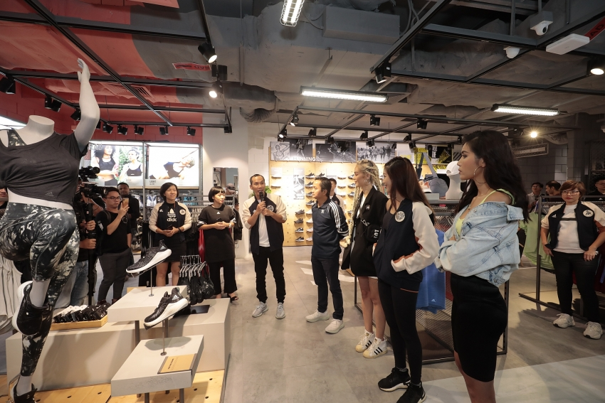 adidas saigon centre comes back with largest store in vietnam