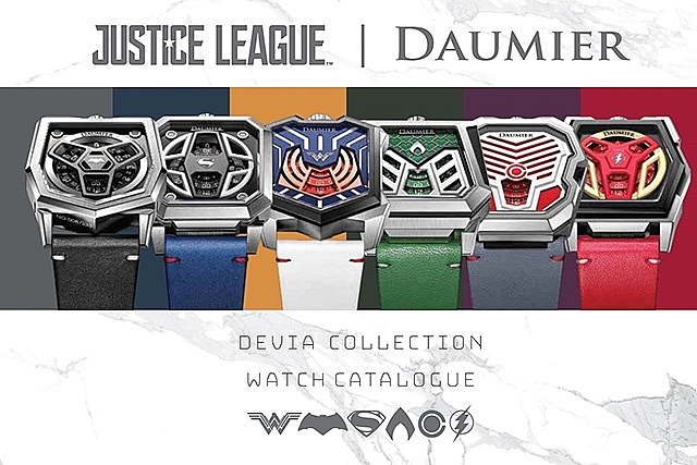 mobile world adds limited edition watch collections for superhero fans