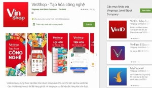 vingroup issues e commerce app for groceries