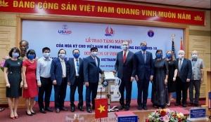 us provides ventilators to help vietnam respond to covid 19