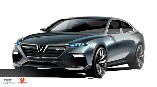 vinfast announces winning sedan and suv designs
