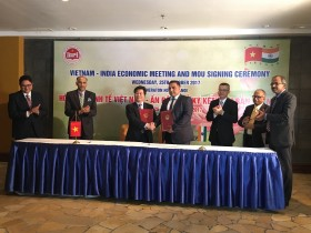 Vietnam and India signs MoU on investment promotion activities