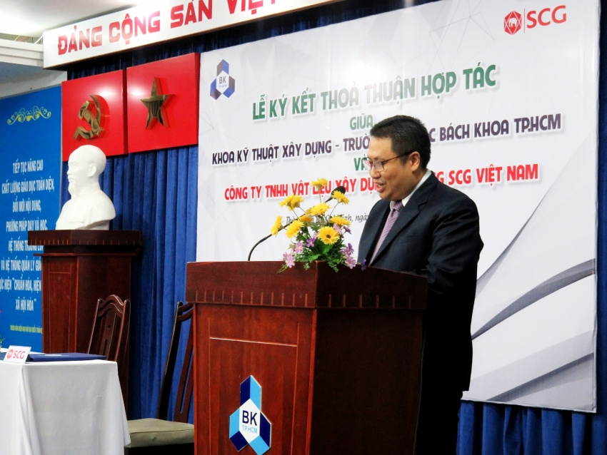scg cement and ho chi minh city university join for innovation