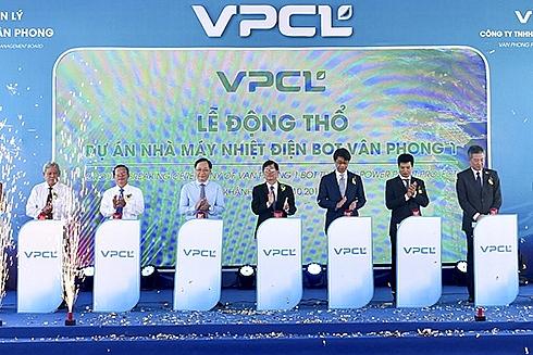 258 billion coal power project kicked off in van phong saez