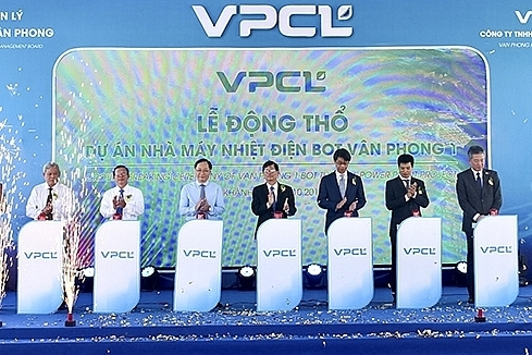 258 billion coal power project kicked off in van phong saez