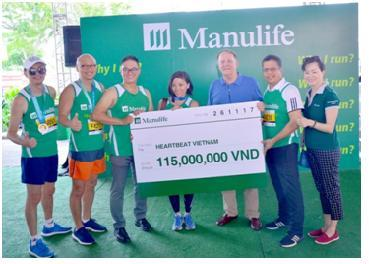 manulife vietnam raises 30 million for hearbeat vietnam