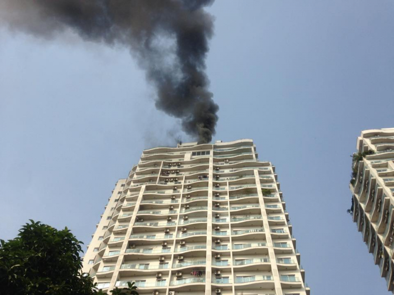 hanois 48 high rise apartment buildings fail to observe fire safety regulations