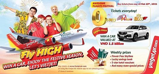 vietjet introduces fly high festival