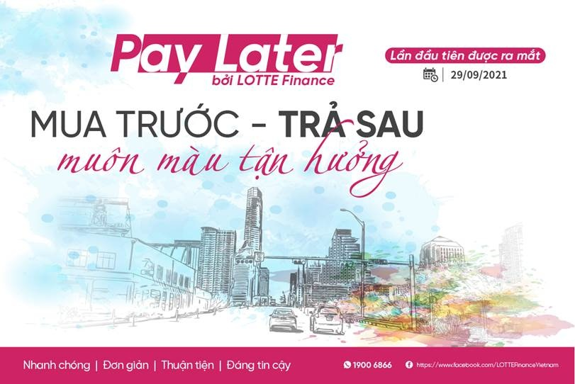 """Lotte Finance launches PayLater service to catch up with """"buy now, pay later"""" trend"""