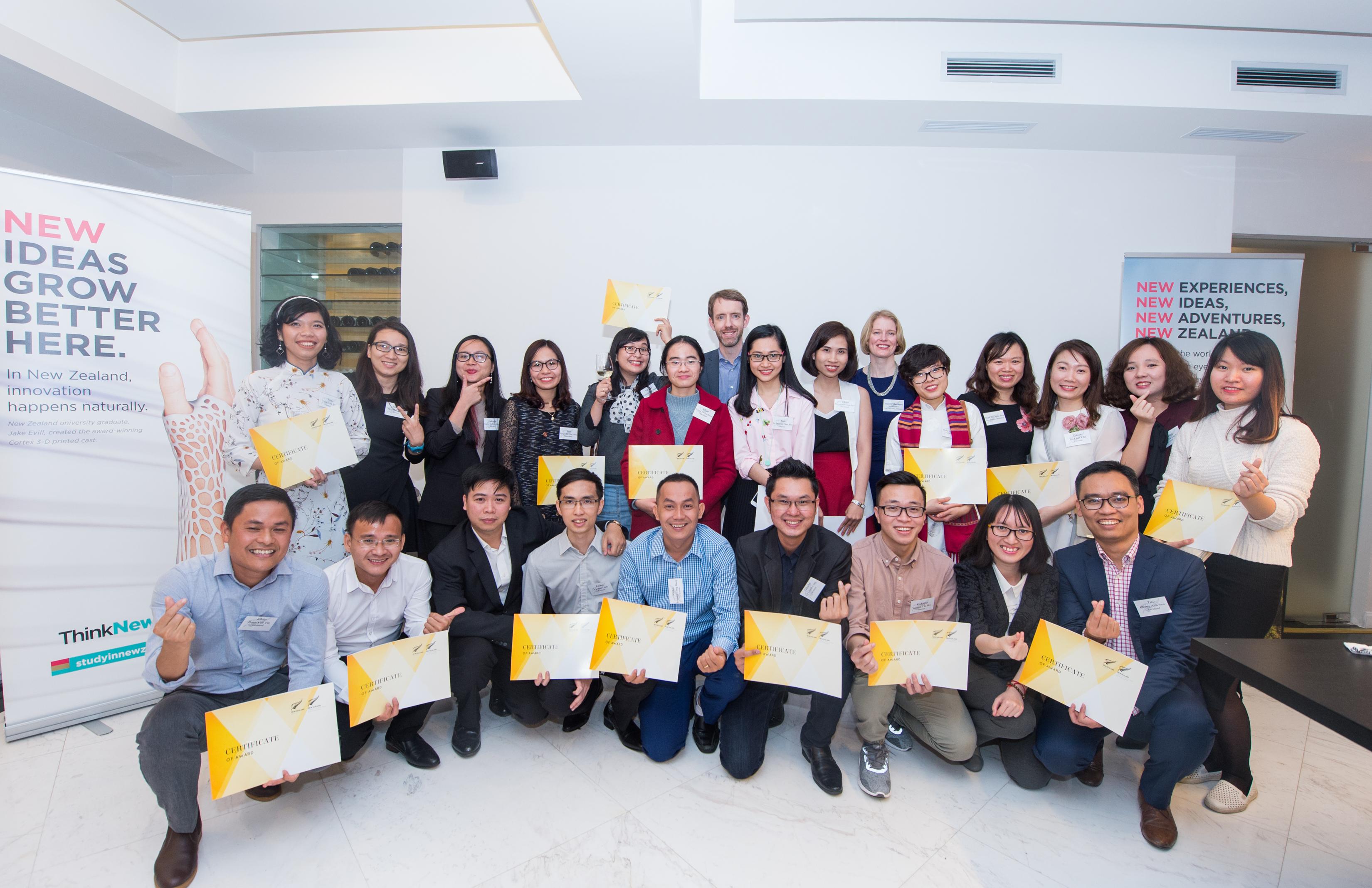 28 vietnamese scholars heading to new zealand to study in 2018