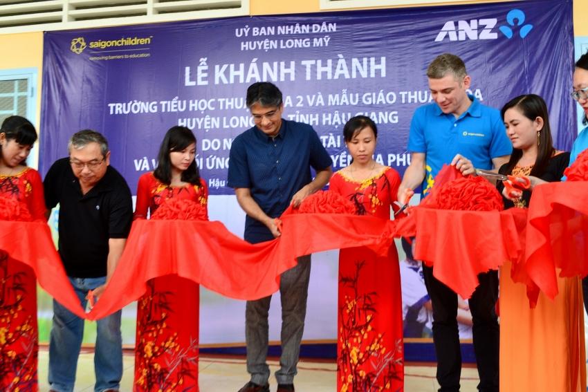 anz and saigonchildren project 3e provides education opportunities for 4000 children