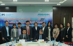ifc joins abbank to support lending to small businesses and women owned smes