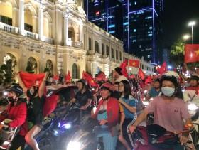 ho chi minh city takes to the streets as vietnam makes football history