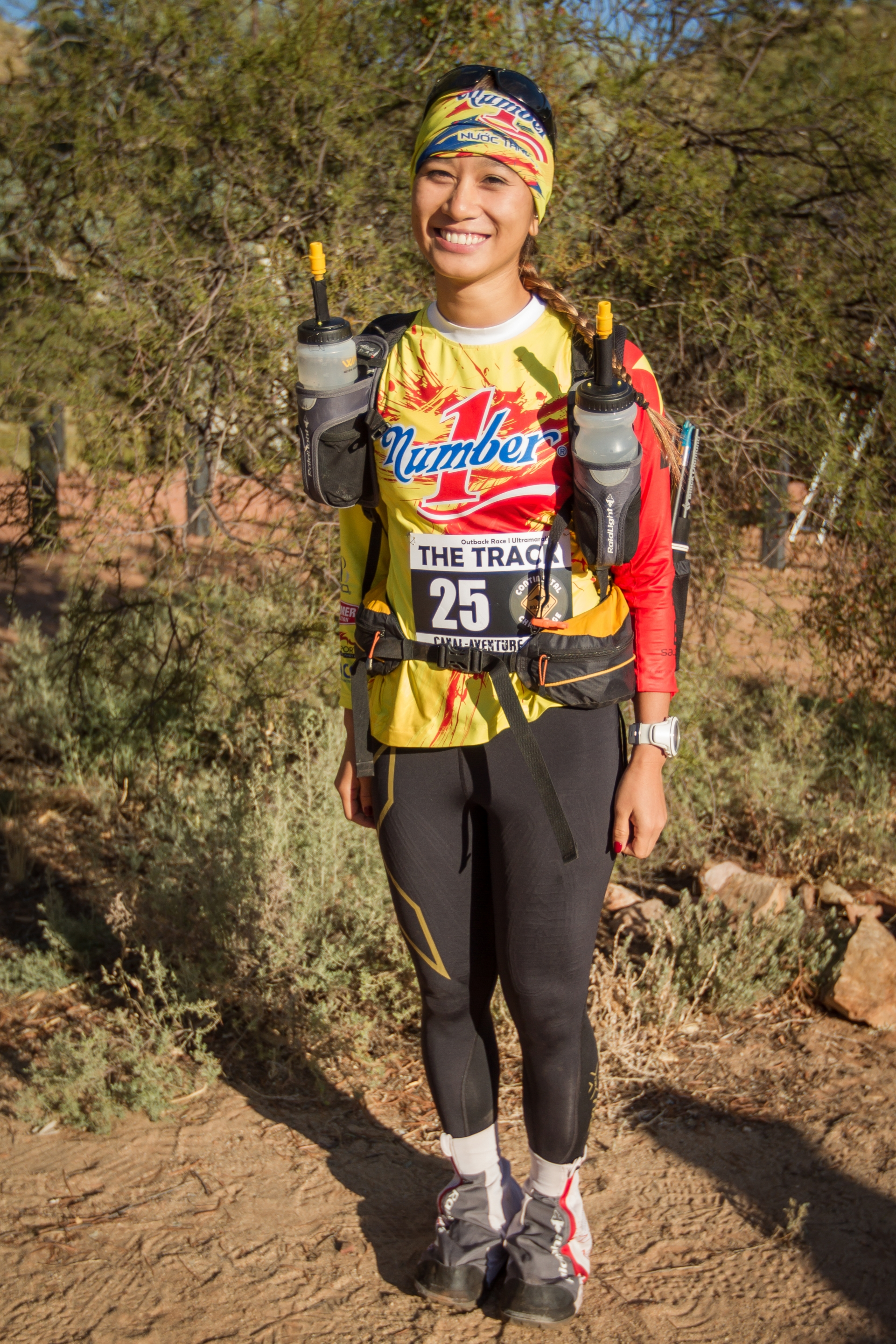 determination makes champions says young adventurer vu phuong thanh