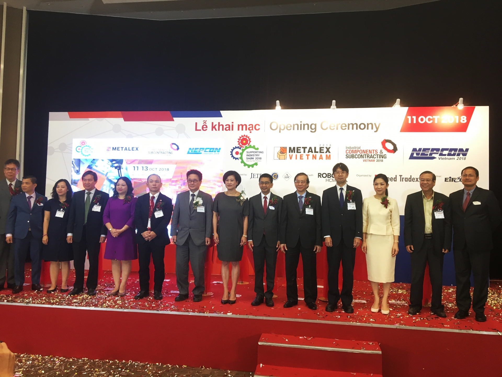 metalex vietnam 2018 dashes towards industry 40
