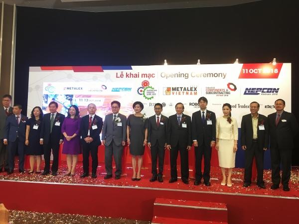 metalex vietnam 2018 dashes towards industry 40