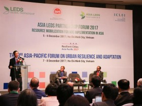 Asian cities vow to combat climate change