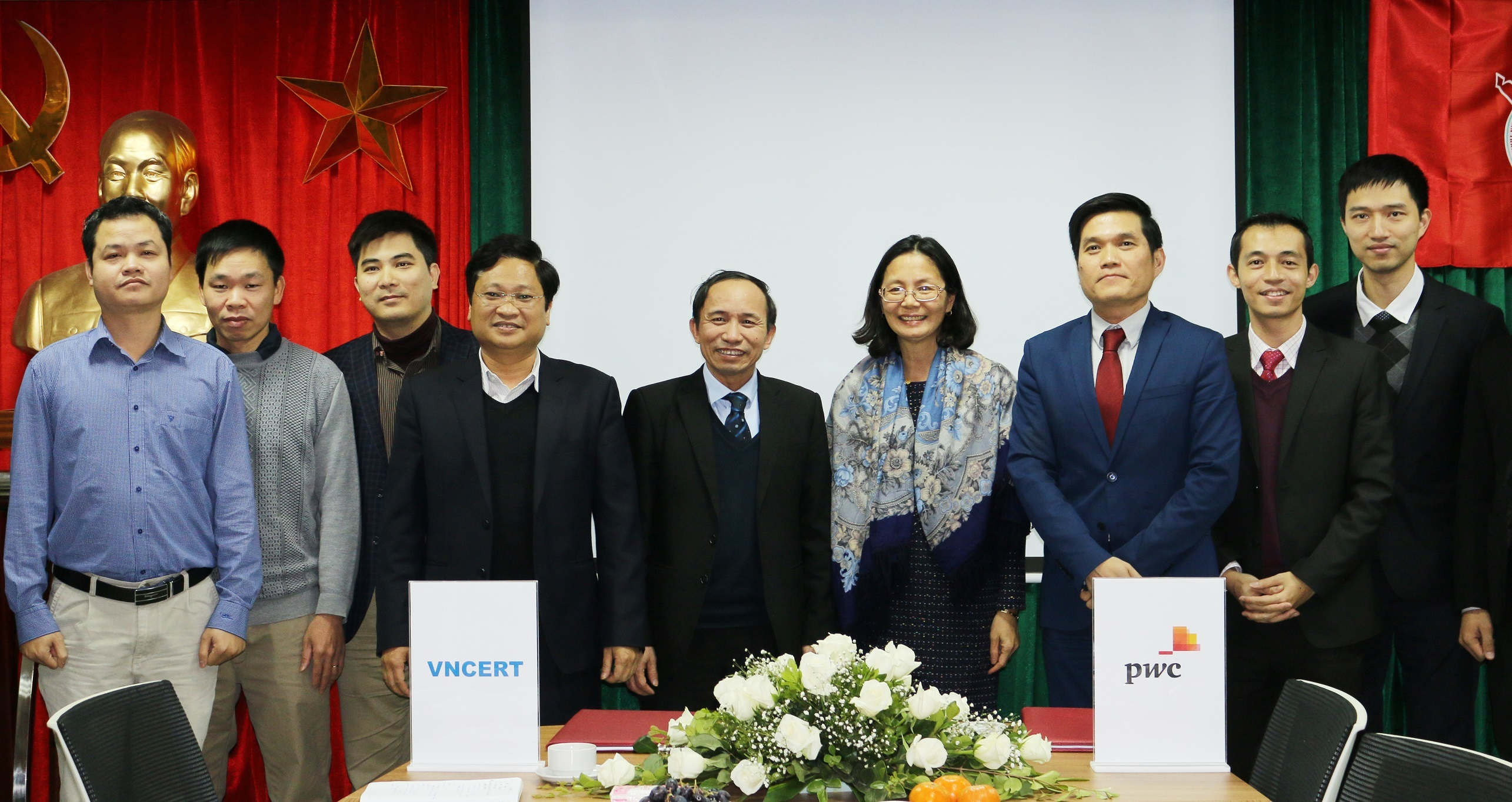 pwc vietnam and vncert form strategic partnership for cyber security incident response